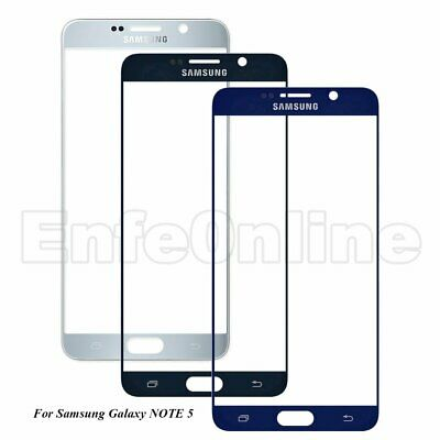 For Samsung Galaxy Note 5 Front Outer Touch Screen Glass Lens Replacement Part