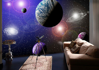Wall Mural Photo Wallpaper ALIEN PLANETS SPACE COSMOS Home Decor Art 335x236cm