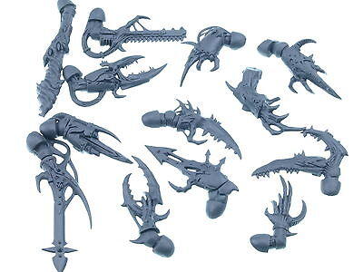 Chaos Space Marines Possessed - Mutierte Arme / Waffen 13x - Big Pack