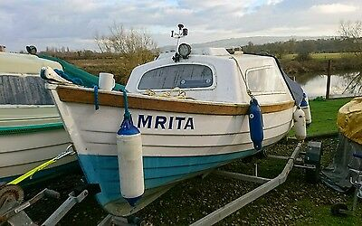 15ft orkney style fishing boat cuddy