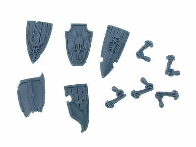 Vampire Counts Grave Guard - Shields with left Arms 5x - Big Pack