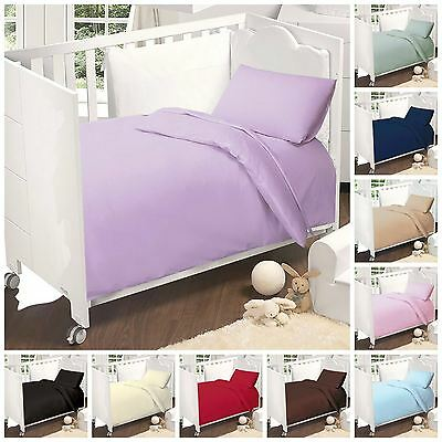Love2Sleep EGYPTIAN COTTON COT BED DUVET COVER SET 120 x 150 CM