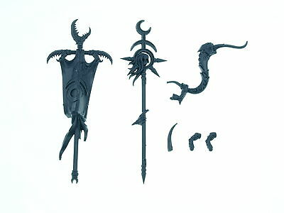Daemonettes of Slaanesh - Command Upgrade Set and Accessoires - Big Pack