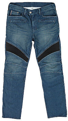Joe Rocket Mens Blue Accelerator Denim Motorcycle Pants Jeans
