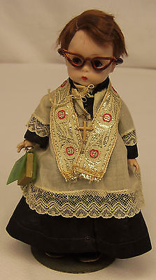 "Vtg 1957 Madame Alexander Kins LITTLE MINISTER 411 Bent Knee Walker 8"" Doll RARE"