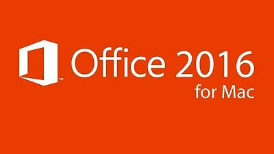 Microsoft Office 2016 Mac Home and Business - 100% Originale