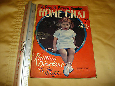 home chat february 6 th 1926 lots of adds vintage