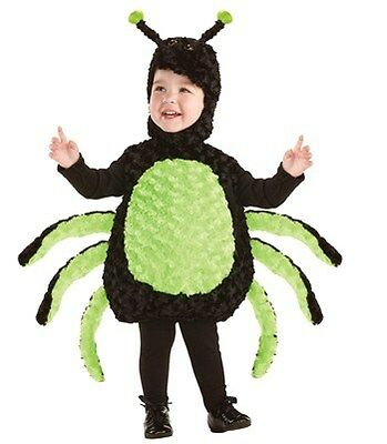 Spider Costume-Infant/Toddler M (18-24M) by Underwraps