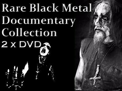 Norwegian Black Metal Documentary Collection - Darkthrone Mayhem Rare 2 x DVD