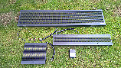 Hanover LED FULL SET Front Side Rear Bus Coach Destination Blind & DERIC+ D200E