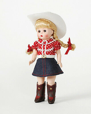 Madame Alexander Collectible Doll – 8″ Cowgirl Boots And Bling Wendy 71540
