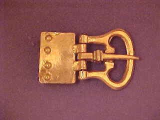 Buckle with Plate - W-61