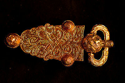 Frankish belt buckle - from St. Denis - B-54