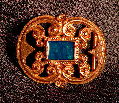 16th Century Buckle With Enamel - X-88