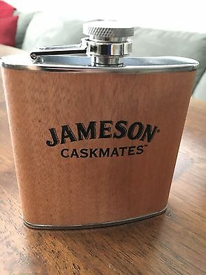Jameson Caskmates Irish Whiskey 6oz Stainless Steel Flask - New in Packaging