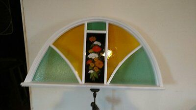 Absolutely Gorgeous ARCHED Stained Glass Window
