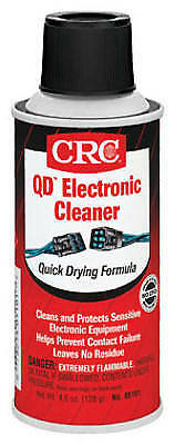 CRC INDUSTRIES 4.5-oz. Quick-Dry Electronics Cleaner Aerosol