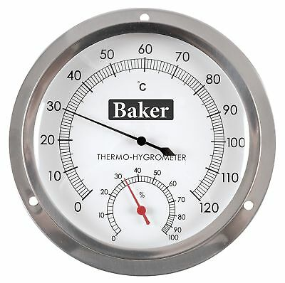 Baker Instruments B6020 Dial Thermo-Hygrometer 0 to 120C / 0-100% RH