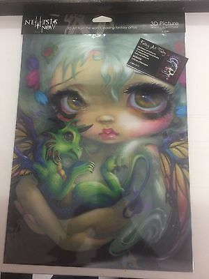 3D Picture Darling Dragonling by Jasmine Becket-Griffith