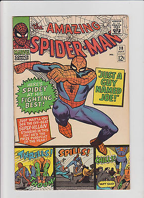 Amazing Spider-Man #38 FN/VF Silver Age (1966) 2nd app. Mary Jane Watson