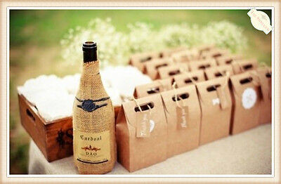 5X 10X 20X Kraft Paper Gift Carry Shopping Present Package Bags Party Bulk Brown
