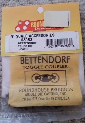 Roundhouse N Scale Knuckle Couplers Low Profile 08988 NIP (20)