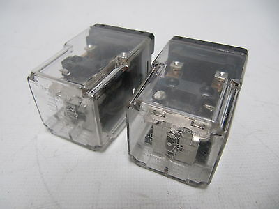 (LOT OF 2) Potter & Brumfield /Tyco Electronics Cube Relays 120VAC KRPA-11AG-120