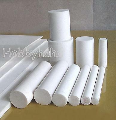 1pcs New 300mm/12'' Long Dia 50mm/2'' PTFE  Round Rod Bar