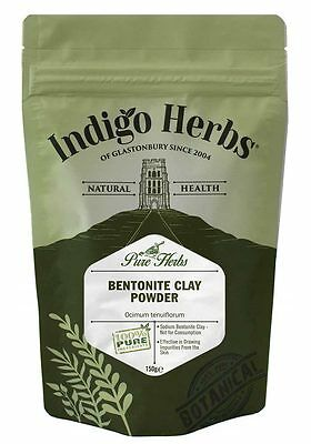 Bentonite Clay - 150g - Indigo Herbs (Quality Assured)