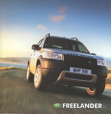 Landrover Freelander • 2002 • Brochure Prospekt • Dutch • EXCELLENT