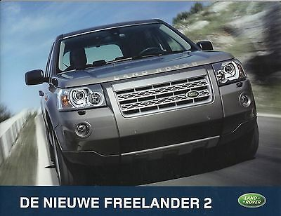 Landrover Freelander 2 • 2006 • Brochure Prospekt • Dutch • EXCELLENT