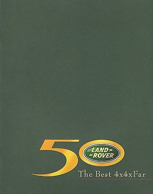 Landrover Best 2x2 by Far • 2004 ± • Promotional Booklet • Dutch • EXCELLENT
