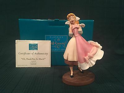 """WDCC Cinderella """"Oh, Thank You So Much!"""" New in Box"""