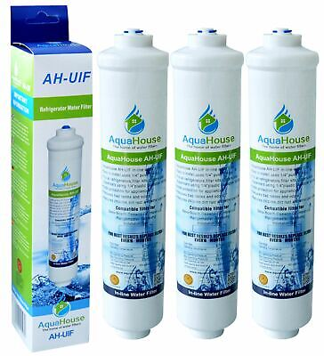 3x Compatible Water Filter for Samsung HAFEX/EXP Aqua Pure Fridge RS21DCNS