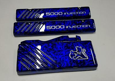 Holden Commodore 5L V8 Custom Candy Blue Engine Covers VN VP VR VS HSV SS