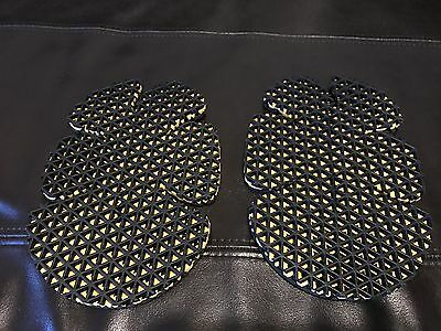 Forcefield Body Armour Knee / Elbow Protectors Motorcycle Jacket Inserts
