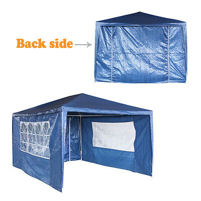 3x4m Waterproof Gazebo Awning 120g Party Tent PE Garden Marquee Canopy Outdoor