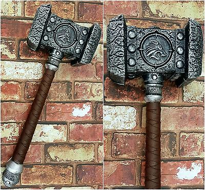 LARGE WoW DOOMHAMMER CosPlay Larp WarCraft Hammer  Shadowmourne Frostmourne UK