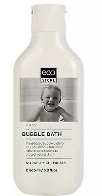 New Ecostore Baby Bubble Bath 200ml - Free Post