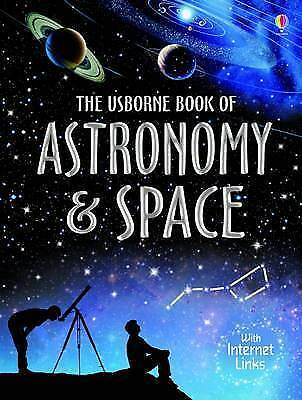 Book of Astronomy and Space (Usborne Internet-linked Reference)-ExLibrary