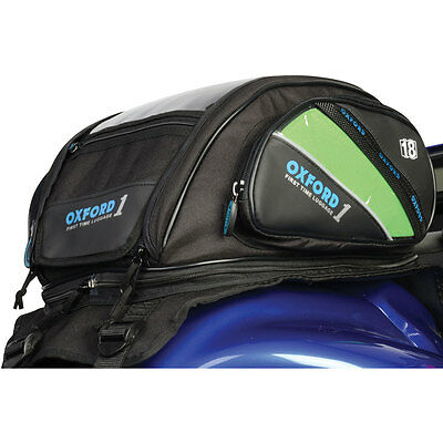 Motorcycle Oxford First Time Tank Bag Strap-on - 18L UK Seller