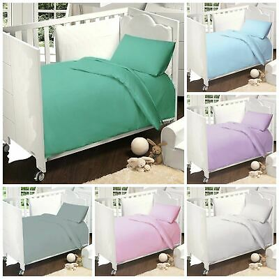 Love2Sleep COTTON RICH COT BED DUVET COVER SER 120 x 150 CM - VARIOUS COLOURS!