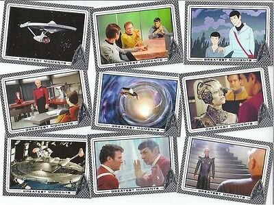 Star Trek 50th Anniversary: 100 Card Basic/Base Set & P1 Promo Card - 2017