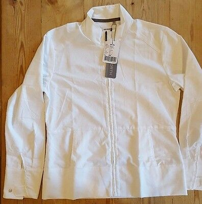 Ashworth Ladies Windproof Golf Jacket White Small RRP £49.99!!