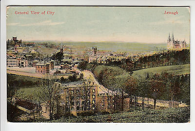 Armagh, General View of City - Milton's Glazette PC PU 1907 (104)