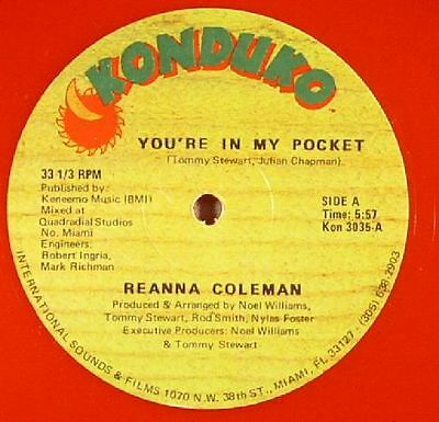 "COLEMAN, Reanna - You're In My Pocket - Vinyl (coloured vinyl 12"")"
