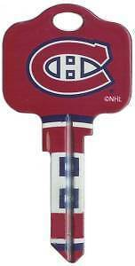 NHL MONTREAL CANADIENS House Key Blank SCHLAGE SC-1 CAREY PRICE