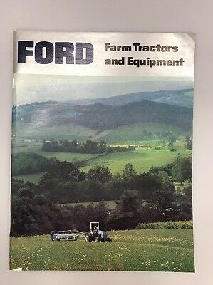 Vintage Ford Farm Tractors and Equipment Brochure Book Implements 1970s 1980s