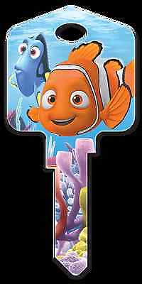 DISNEY FINDING NEMO with BRUCE House Key Blank WEISER WR Reversible