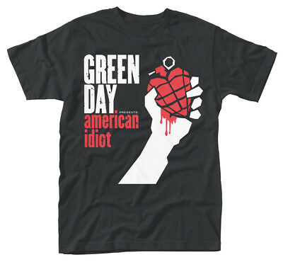 Green Day 'American Idiot Album Cover' T-Shirt - NEW & OFFICIAL!